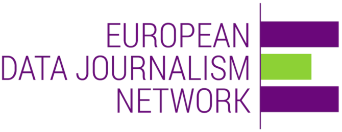european data journalism network logo