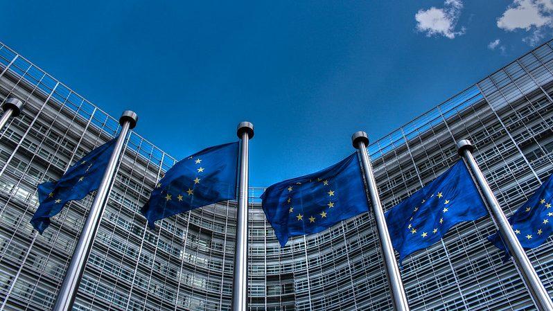 photo of European Union flags
