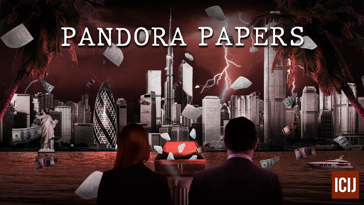 pandora papers cover